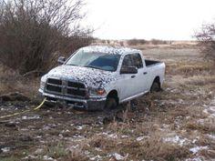 #stuck #mudtruck #Ram www.customtruckpartsinc.com Muddy Trucks, Ghosts, Offroad, Vehicles, Off Road, Car, Vehicle, Tools