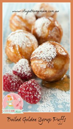 Boiled Golden Syrup Puffs | Stay at Home Mum