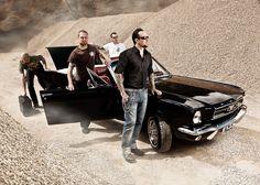 Michael Poulsen AND a Mustang?!  HEAVEN!!!