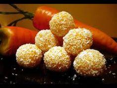 Lahodné cukroví z mrkve.