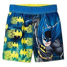 DC Comics Batman Little Boys' Toddler Swim Trunks Toddler Boys, Kids Boys, Cute Boys, Toddler Swim Trunks, Toddler Swimming, Cute Boy Outfits, Disney Princess Fashion, Boys Swimwear, Sports Trousers