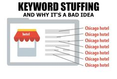 There is a practice that is called keyword stuffing, and it actually previously was fairly successful until search engines wised roughly it and began penalizing websites that did everything. Today, stuffing a keyword into your content too many times may well knock the stuffing out from the search rankings, or even cause your content in order to removed from search listings entirely.   #keywordstuffing Chicago Hotels, Do Everything, Stuffing, Knock Knock, Search Engine, Seo, How To Remove, Success, Content
