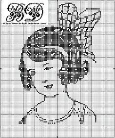 Nelly black and white cross stitch free bD customary