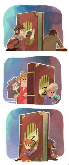 Gravity falls. The journals by sailorleo tumblr. Separation