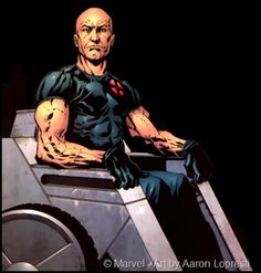 Professor X - I love how buff he is in this depiction, and not some frail old man.