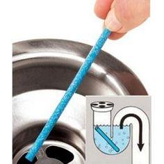 12 Pcs Sewer Deodorant Stick Rod Kitchen Toilet Bathtub Pipeline Cleaning Tool