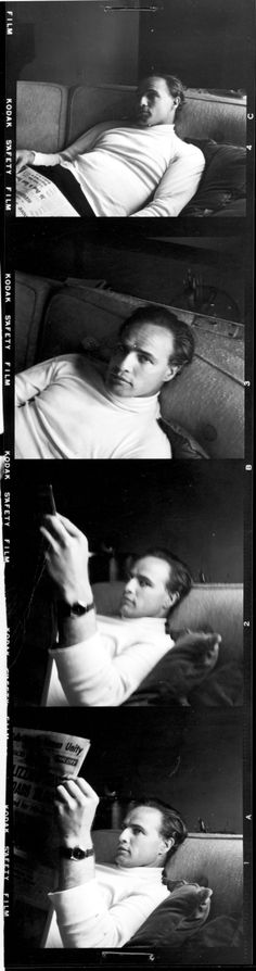 """""""Marlon Brando loved the creative process of being an actor, according to """"Listen to Me Marlon"""" director Stevan Riley, but """"he didn't like the politics of filmmaking"""" (2015)."""