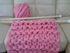 Super Big Wooden Needles. Giant Knitting Needles. US 70 by woolWow