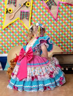 vestido caipira - Pesquisa Google