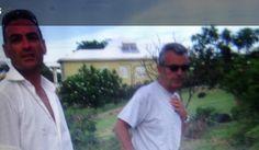Chicco e Claude....isole grenadines..Caraibi