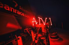May 19, 2015. Leg 7 to Lisbon onboard Team Alvimedica. Day 02. ALVI for Alvimedica, as written by headlamp in the middle of a dark night in the North Atlantic. Approaching the southern limits of the Greenland Ice Exclusion Zone the fleet compresses, all six within sight of each other Amory Ross / Team Alvimedica / Volvo Ocean Race