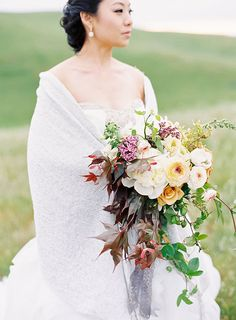 Lush Bouquet with Greenery | Brides.com