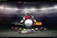 Nike CRM Microsite by Chris McCall. Proof of concept animation for Nike CRM microsite.