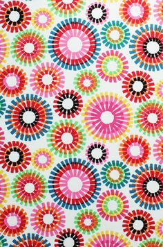 Quilt Fabric Alexander Henry Fabrics Fiesta Firecracker Natural No. 7543AR By The Half-Yard