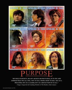 PURPOSE - John Lennon
