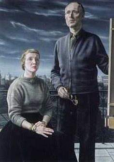 Carel Willink - The Painter and His Wife, 1957 (1900-1983) Private Collection