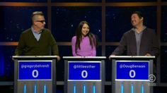 This is a funny show.  Chris Hardwick is the host and it's on Comedy Central : At Midnight (Apr 8, 2014)   Watch Movies Tv Shows Online Free