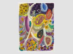 Gillian Ayres | Paintings | Works on paper | Editions | Monoprints - Gillian Ayres - Unique Works on Paper