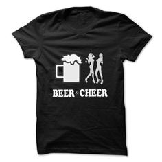 Beer And Cheer - #girl tee #tshirt display. LIMITED TIME PRICE => https://www.sunfrog.com/Drinking/Beer-And-Cheer-18558621-Guys.html?68278