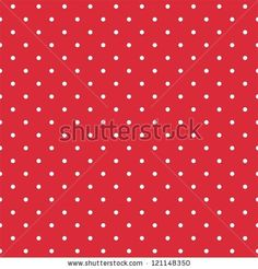 Retro seamless pattern or texture with white polka dots on red background. For christmas background, blog, web design, desktop wallpaper scrapbook, party or baby shower invitation and wedding cards.