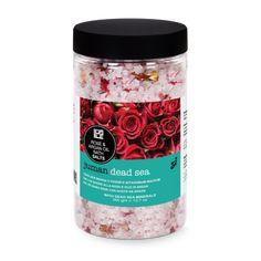 Kúpeľová soľ z Mŕtveho mora s arganovým olejom a ružou Rose Bath, Dead Sea, Sun