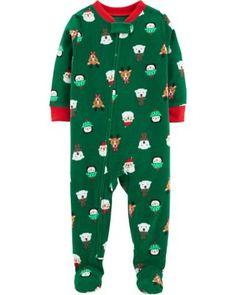 1ede20cae3 Carter s Size 18M Fleece Christmas Pajamas In Green. Boys ShoesToddler  ChristmasChristmas PajamasChristmas TimeBaby Boy ...