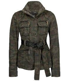 Amazon.com: BKE Camo Print Jacket Camo: Clothing Camoflauge Jacket, Camo Print Jacket, Plaid Jacket, Military Camouflage, Military Jacket, Camo Party, Camo Outfits, Cute Boots, Faux Leather Jackets