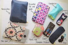 Organizing your purse can be easy and fun - you can change purses in less than a minute with this method PLUS you'll never be digging again for your stuff in the bottom of your bag!