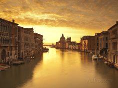 Santa Maria Della Salute, Grand Canal, Venice, Italy Photographic Print by Jon Arnold at AllPosters.com