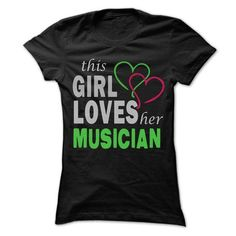 This Girl Love herMusician T Shirts, Hoodies. Get it now ==► https://www.sunfrog.com/Outdoor/This-Girl-Love-herMusician--Cool-Job-Shirt-99-.html?57074 $22.25
