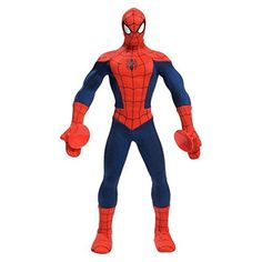 Marvel Ultimate SpiderMan Action Hero Super Posable Spiderman Ultra Pose Plush *** Learn more by visiting the image link.