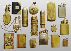 vintage trench lighters