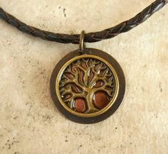 Tree of Life Necklace Copper  Mens Jewelry  by MaddDoggofTomorrow, $30.00