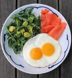 Delicious Salmon, eggs, greens and avocado! Ignite and Post Ignite friendly. #ignitewithsteph #ignitenow #loseweight #ignitefriendly #postignitefriendly #feduptofitand40 #feduptofaband40