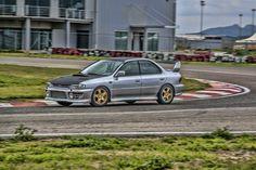 Subaru impreza wrx sti trackday car
