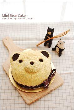 Bear Cake (with recipe).