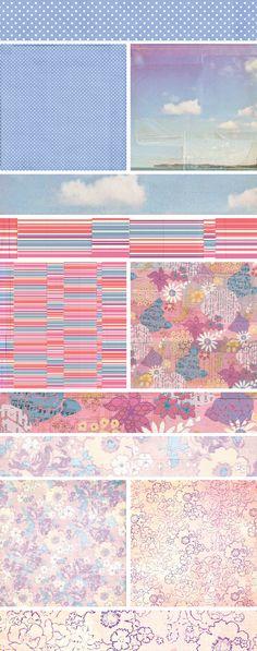BasicGrey Soleil | Patterned Paper./ textile, surface, pattern