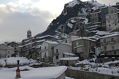 Castelsaraceno is a town and comune in the province of Potenza, in the Southern Italian region of Basilicata. winter in Castelsaraceno