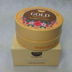 [Koelf] Gold Royal Jelly Hydro Gel Eye Patch (60pcs) [Korea cosmetics] #KOELF #333korea #skincare #beauty #koreacosmetics #cosmetics #oppacosmetics #cosmetic #masksheet #maskpack #facemask #facialmask