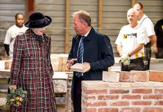 Queen Margrethe visited Scangrip company producing automotive lighting and industrial systems in Svendborg Getting Married In Denmark, Danish Royal Family, Danish Royals, Chef Jackets, Men Casual, Google Translate, Queen, Mens Tops, House