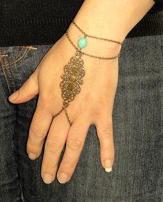Slave bracelet Antique bronze slave bracelet ring, so delicate!