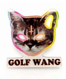 GOLF WANG CAT BROOCH