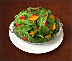 Salada de Rúcula Quinoa e Abóbora Japonesa