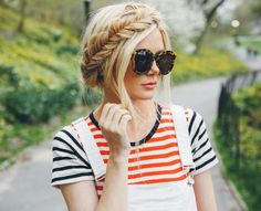 exPress-o: Fishtail milkmaid braid