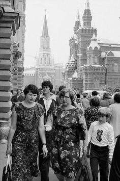 Летняя Москва 1980-го