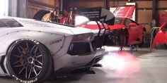 El sonido de este Lamborghini Aventador sera lo mas impresionante que escucharas hoy #VIDEO