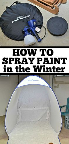 How to Spray Paint i