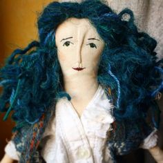 "Polubienia: 13, komentarze: 1 – Barbara (@barbarita_clothdolls) na Instagramie: ""She's my favourite😍 . #handmadedoll #artdoll #clothdoll #fabricdoll #textiledoll #handmade"""
