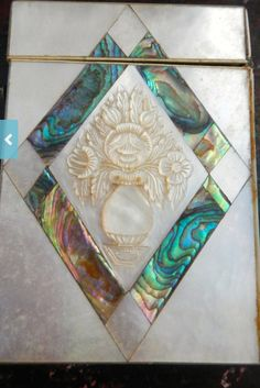 Mother of pearl and Abalone- beautiful!