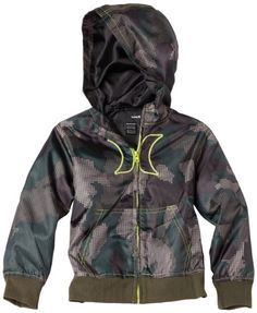 Hurley Toddler Boys The Camo Hoody